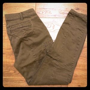 Gap Stretch Military Green Tapered Utility Pants